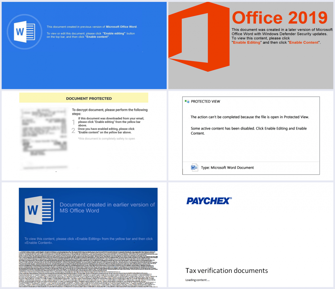 Another set of templates used by document downloaders