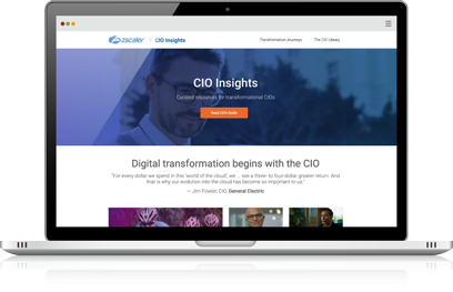 CIO Insights laptop
