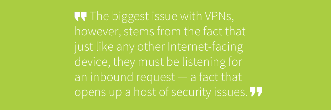 Security and Deployment issues with VPNs | Zscaler Blog
