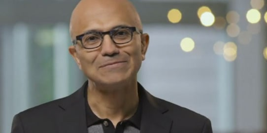 Microsoft CEO: Digital transformation impacts every industry