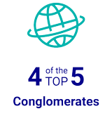 4 of the TOP 5 Conglomorates